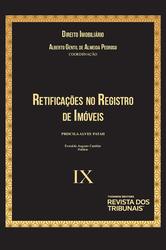 Retificações no Registro de Imóveis - Vol. IX - Ed. 2020