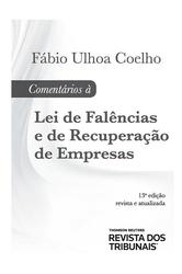 Comentarios a Lei de Falencia e Recuperação Judicial - Ed. 2018