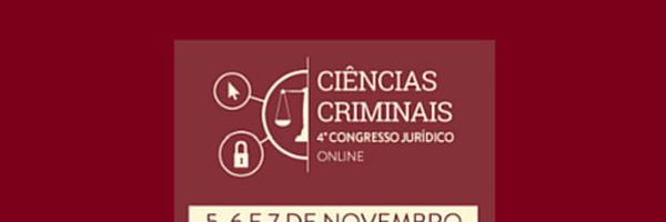 4º Congresso Jurídico Online CERS - Ciências Criminais