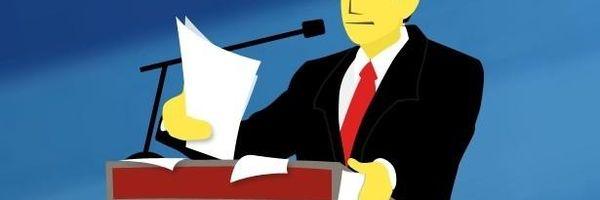 Advogado que não se comporta e não se comunica bem se trumbica