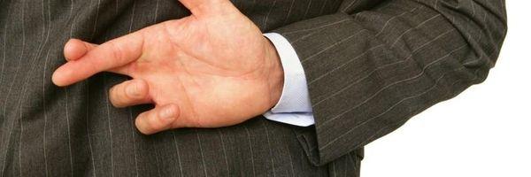 O cliente que mente para o advogado não merece seu patrocínio!