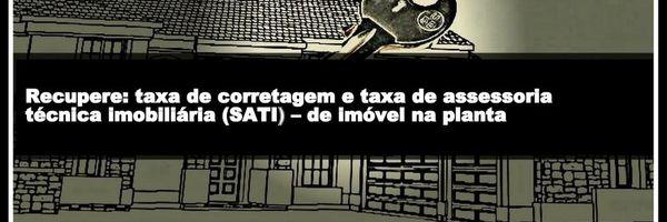 Recupere: taxa de corretagem e taxa de assessoria técnica imobiliária (SATI) – de imóvel na planta