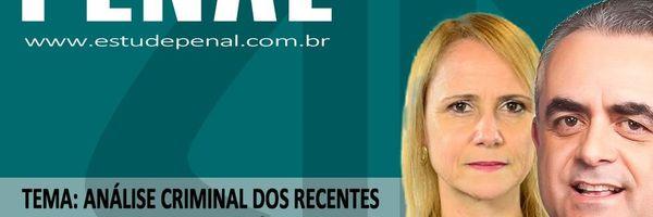Estude penal AO VIVO, HOJE, às 18h com os profs. Luiz Flávio Gomes e Alice Bianchini