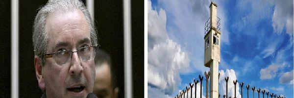 Cunha foi afastado, mas seu lugar é na cadeia