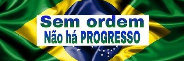 Sem ordem não há progresso