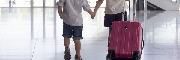 Viagem de Férias para menores
