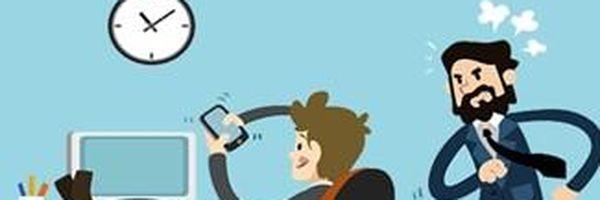 Posso ser demitido por usar o celular no local de trabalho?