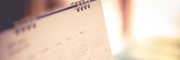 Sobre o calendário para a prática de atos processuais
