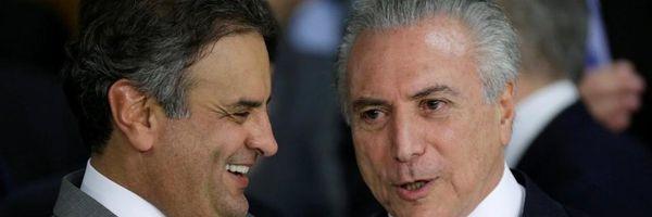 Michel Temer e Aécio Neves: vítimas de uma Ação Controlada