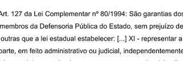 Prática: como o Advogado ingressa no processo no lugar de um Defensor Público?