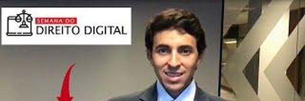 Liberei o 1º Encontro do Evento Semana de Direito Digital.