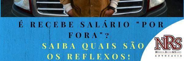 """Sou motorista caminhoneiro e parte do meu salário é pago """"por fora"""""""