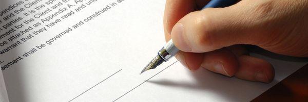 É obrigatório fazer um contrato?