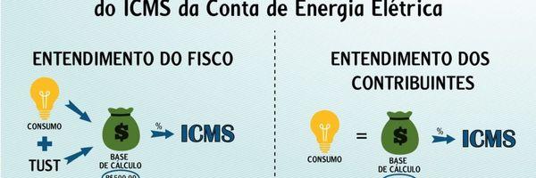 Como excluir as tarifas TUST e TUSD da base de cálculo do ICMS da conta de energia elétrica