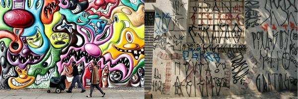 Grafite x Pichação e direitos autorais!!