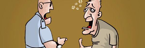 É crime a ameaça vinda de pessoa embriagada?