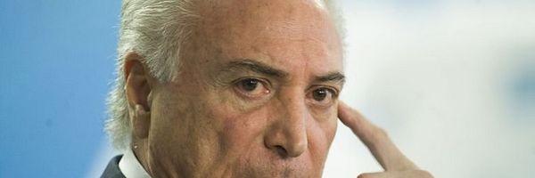 STF confirma indulto de Temer perdoando crimes de colarinho branco