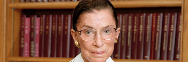 A notória Ruth Bader Ginsburg: advogada, juíza e ícone pop americano