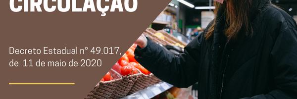 Restrição à circulação no Estado de Pernambuco - Covid-19