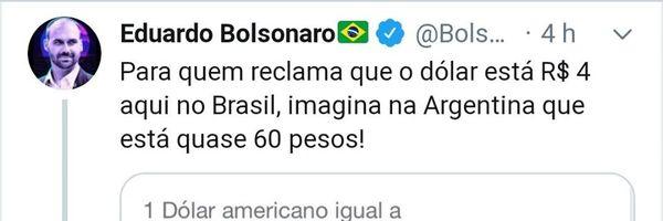 "Eduardo Bolsonaro é a prova viva da ""competência"" do Instituto Mises Brasil"