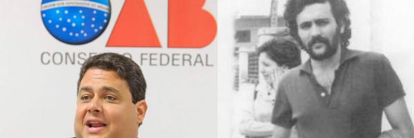 Presidente da OAB vai ao STF para que Bolsonaro conte o que diz saber sobre seu pai