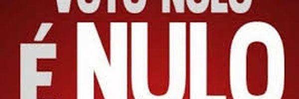 VOTO: Eleição não é anulada por maioria de voto nulo