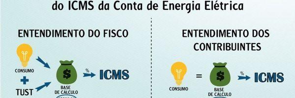 Como excluir as tarifas TUST e TUSD da base de cálculo do ICMS da conta de luz?