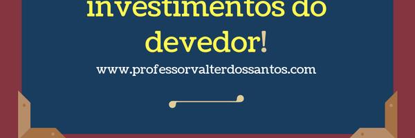 Bloqueio judicial online vai alcançar ATÉ investimentos do devedor!