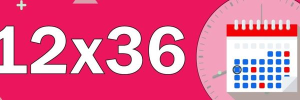 A rotina da jornada de compensação 12x36 e as mínimas variações nos cartões de ponto