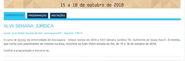 Palestra: A Execução Penal no Brasil