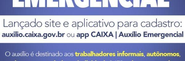 Caixa liberou aplicativo para pagamento do Auxílio Emergencial