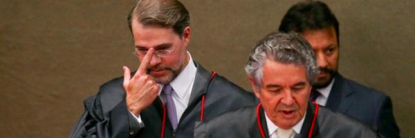 """Marco Aurélio Mello, Dias Toffoli e Lula: """"Não há salvação para juiz covarde"""". Por Joaquim de Carvalho"""