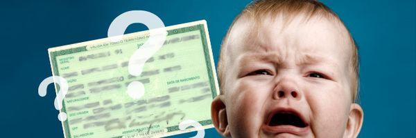 [Dúvida] Descobri que não sou pai de meu filho. Posso retirar meu nome da certidão de nascimento?