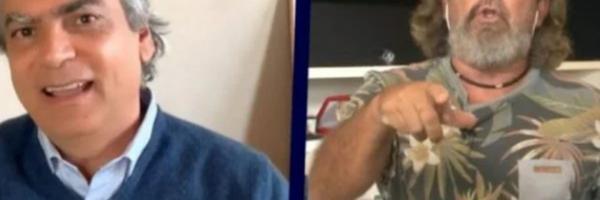 Diogo Mainardi xinga Kakay durante debate no programa Manhattan Connection