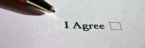 Como é feito Contrato entre ausentes?