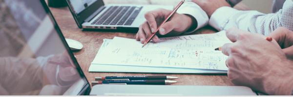 Gerenciando documentos e processos do escritório