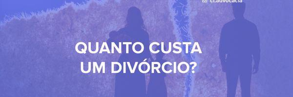 Quanto se gasta em um divórcio?