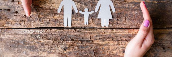 O poder familiar e a guarda dos filhos.