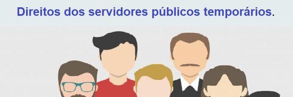 Os servidores públicos temporários possuem direito ao 13º. salário, gozo de férias e 1/3 férias?