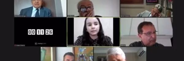 VÍDEO: desembargador do TJGO cochila durante sessão e deixa advogada esperando voto