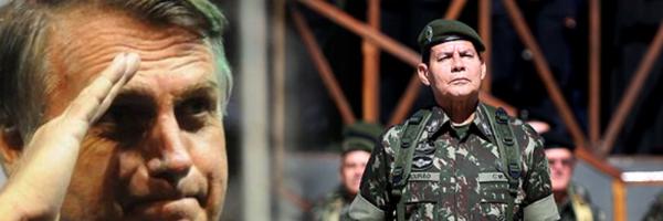 [DEBATE] General Mourão, vice de Bolsonaro, propõe nova Constituição sem Assembleia Constituinte