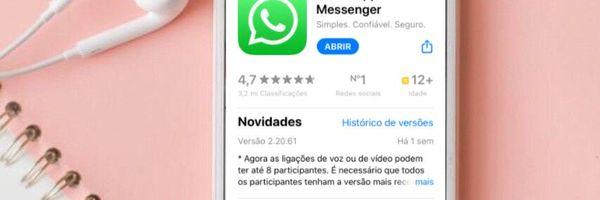 Nova atualização do WhatsApp disponibiliza envio e recebimento de dinheiro