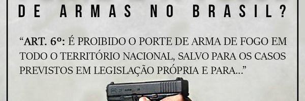 Como funcionam o porte e a posse de armas de fogo no Brasil?
