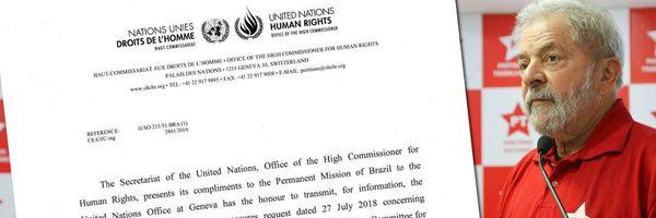 Leia na íntegra a histórica decisão da ONU sobre Lula