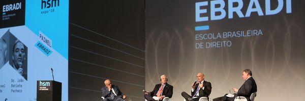 Painel EBRADI na HSM Expo '18 levou conhecimento a milhares de acadêmicos