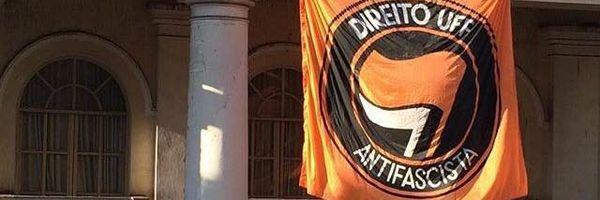 Mandado VERBAL expedido pelo TRE-RJ censura manifestação antifascista de alunos de direito da Universidade Federal Fluminense