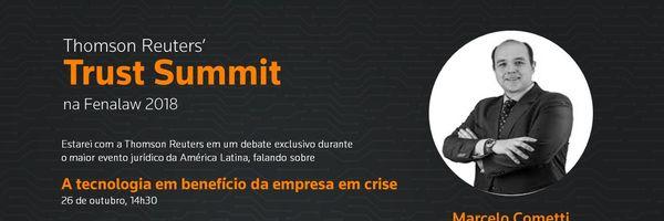 [Convite] Fenalaw 2018: Marcelo Cometti fala sobre a tecnologia em benefício da empresa em crise