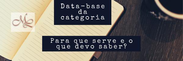 Data-base da categoria: para que serve e o que devo saber?