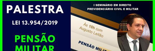 Palestra sobre Pensão Militar - Insituto Venturo - 14/12/2019