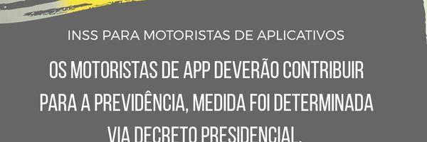 MEI e INSS para motoristas de aplicativos, isso é bom?